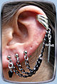 Blade Ear Cuff Earring