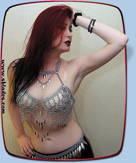 Valkyrie chainmail top