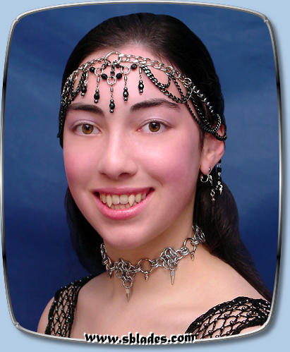 WebArt Dancer Tiara in black